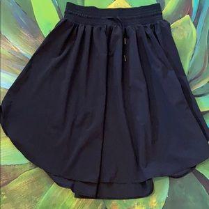 Lululemon The Everyday Skirt Black